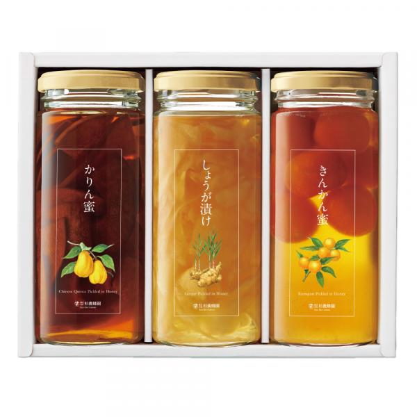 KEK45(Karin Fruit, Ginger, Kumquat Picked in Honey) 280g each