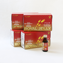 Royal Jelly Drink Gold 1000(100 ml×10 bottles)×4 box set