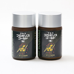 Propolis Gold (93 capsules/bottle)×2 bottle set